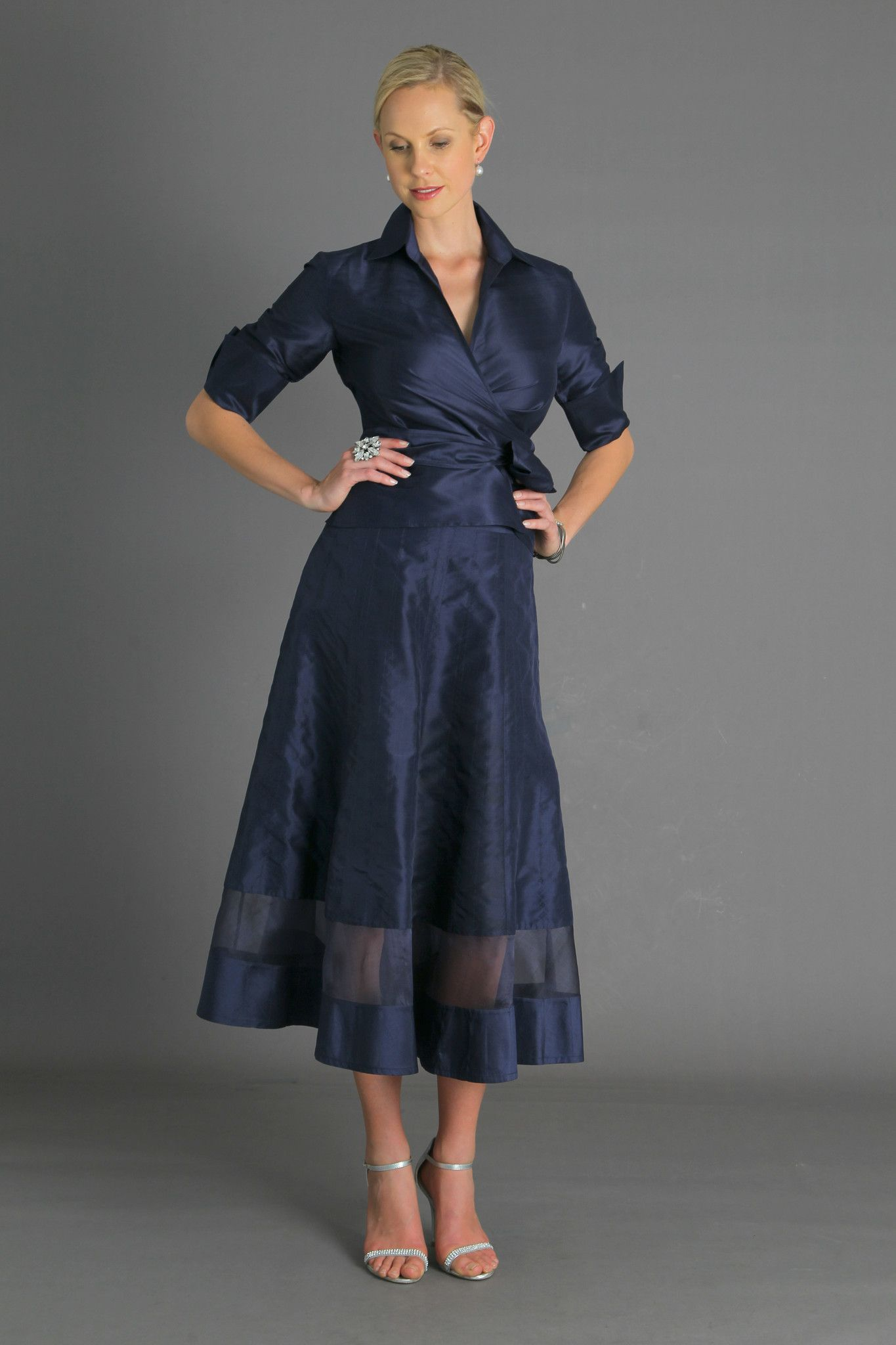 Cocktail skirt midnight blue midnight blue feminine and formal