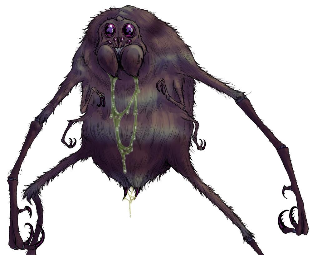 Ettercap — Arcane Dungeons and dragons, Spider