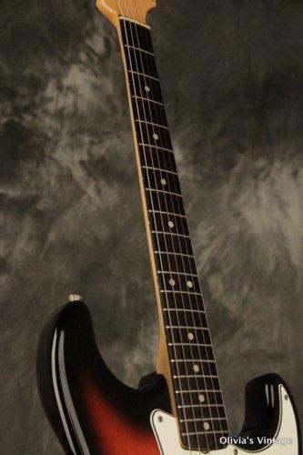original 1965 Fender Stratocaster Sunburst 100% complete #vintageguitars