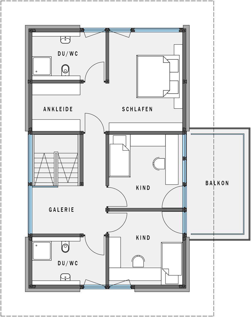 Hauspläne einfamilienhaus neubau  exklusives Lebensgefühl - geringerer Preiseinstieg - HUF Haus modum ...