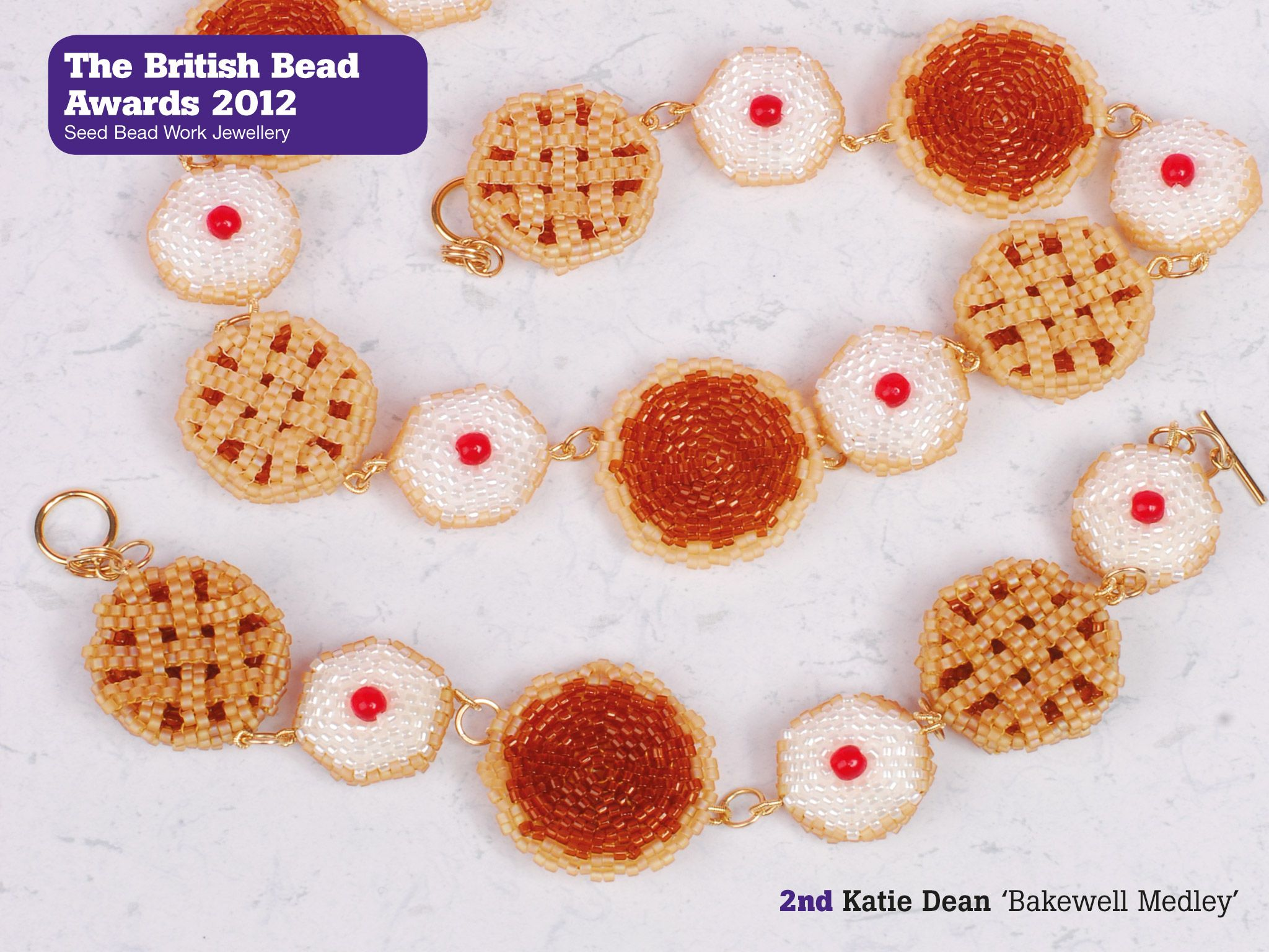 Bakewell Medley by Katie Dean 2nd Place British Bead Awards 2012