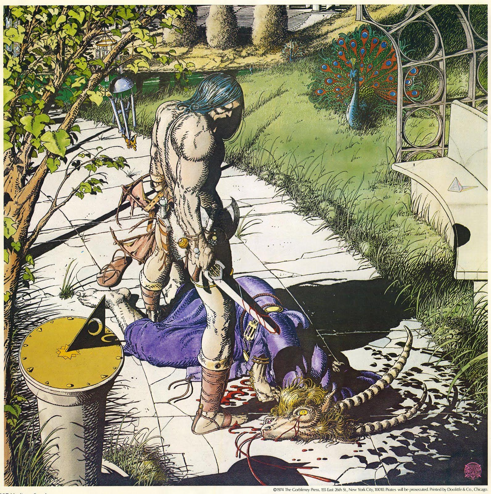 Barry Windsor-Smith, es un dibujante de cómics e ilustrador británico que ha editado su obra más conocida en Estados Unidos. Su reconocimie...