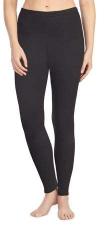 9fee1cf9ac7264 ClimateRight by Women s Stretch Luxe Velour Warm Underwear Legging  Duds  Stretch ClimateRight