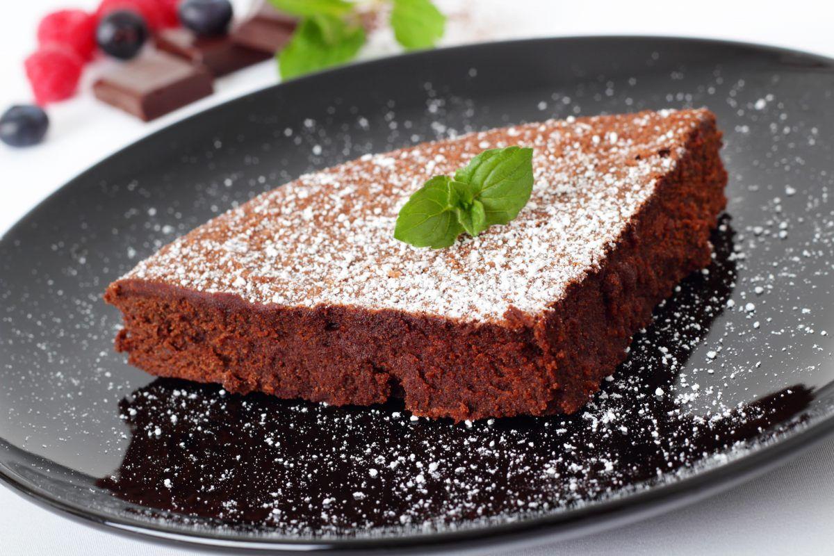 Gâteau aux courgettes et au chocolat (sans beurre) par ...