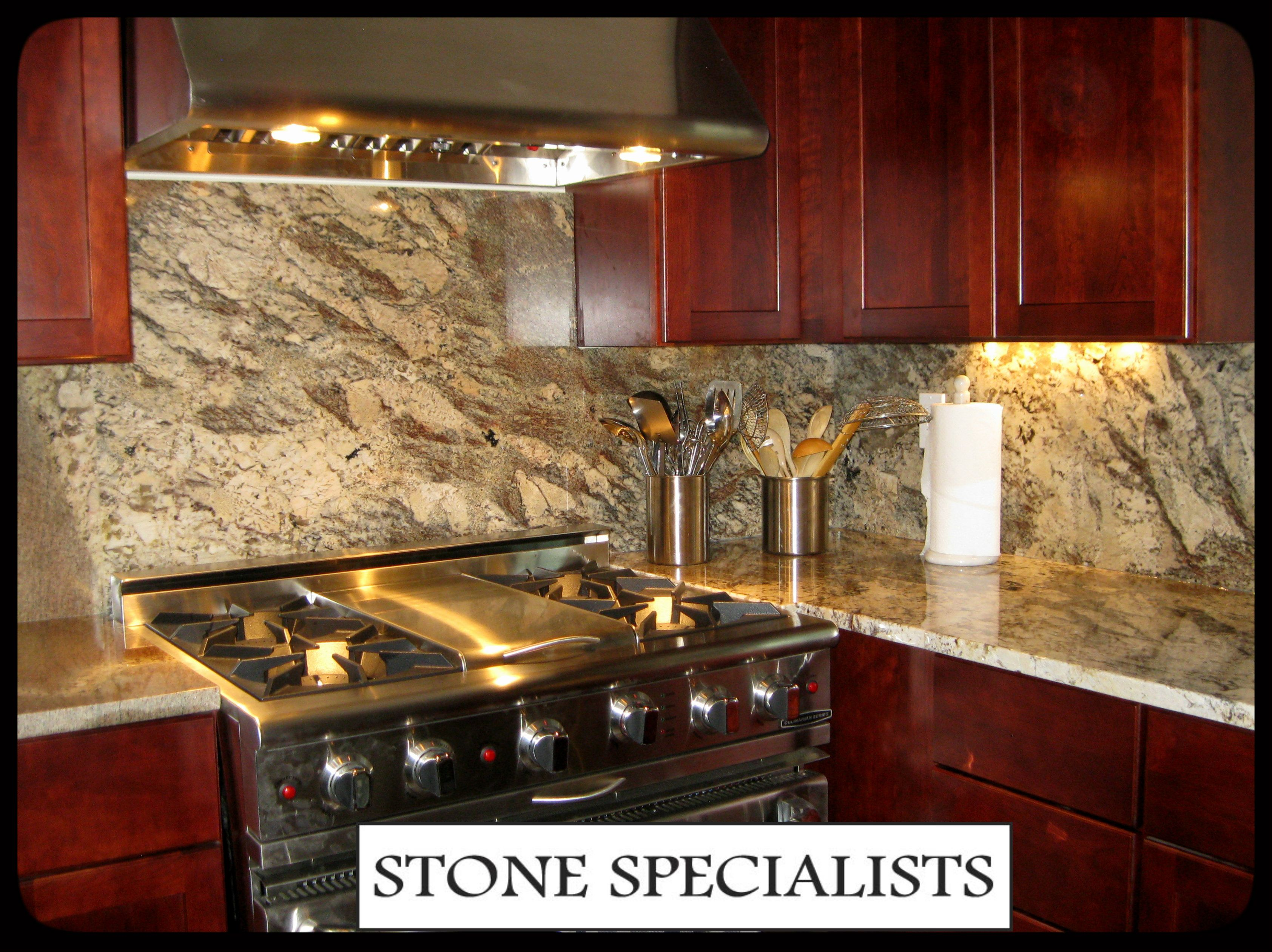 Mother Nature has her way with color and pattern. Netuno Bordeaux granite  from the Stone