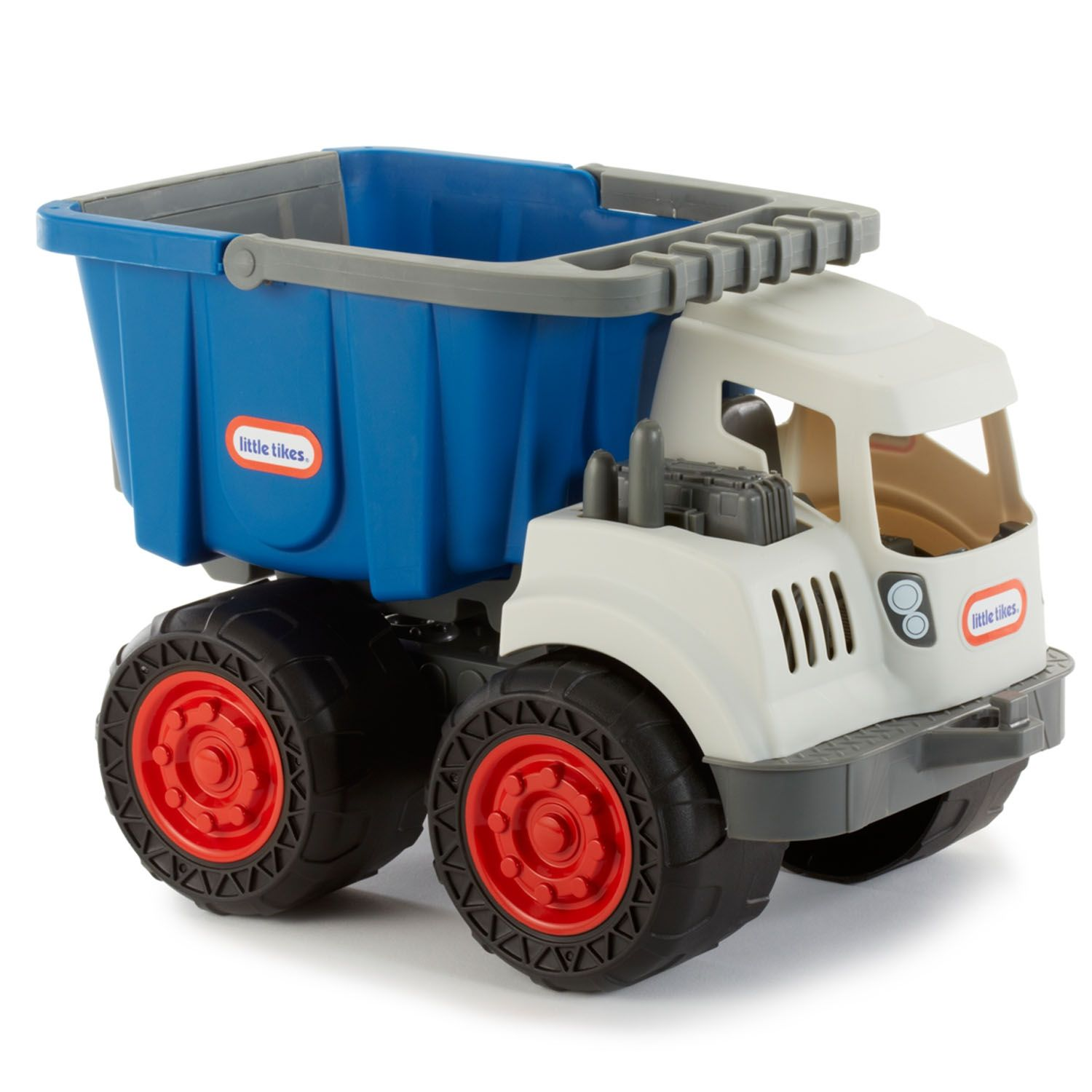 Dirt Diggers™ 2in1 Haulers Dump Truck Blue/Gray Dump