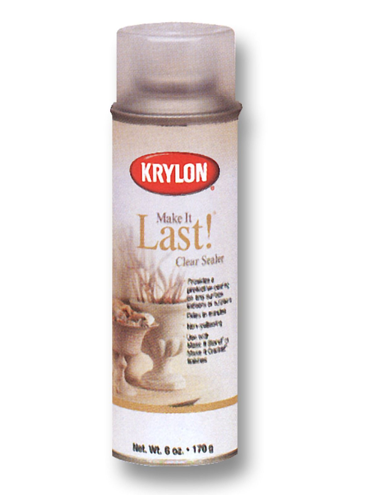 Krylon Make It Last Clear Coat Sealant Spray Protects And Seals Surfaces Painted With Faux Finishes And Adds Outdoor Durabili Stone Spray Paint Sealer Krylon