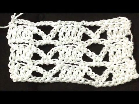Puntadas Crochet #4 - YouTube | Patrones de ganchillo | Pinterest ...