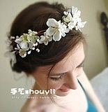 Die Braut Kopfschmuck koreanische Haarbänder schöne Spitze Kristall Edelsteine…
