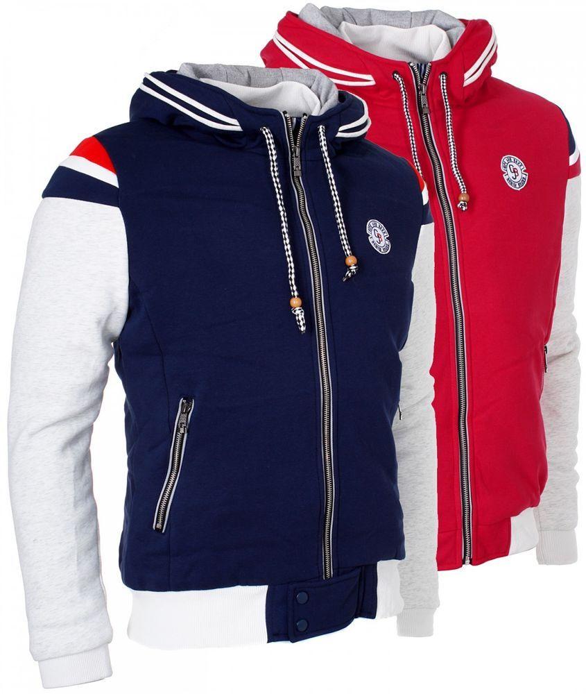 Sweatshirt jacke herren ebay