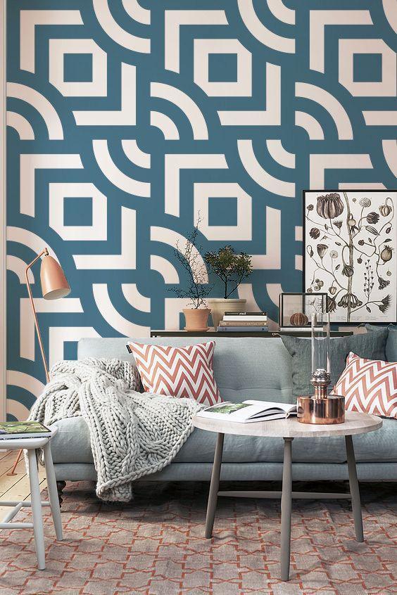 Papier peint adhésif - fond d'écran amovible - mur autocollant - murale - fond d'écran ...