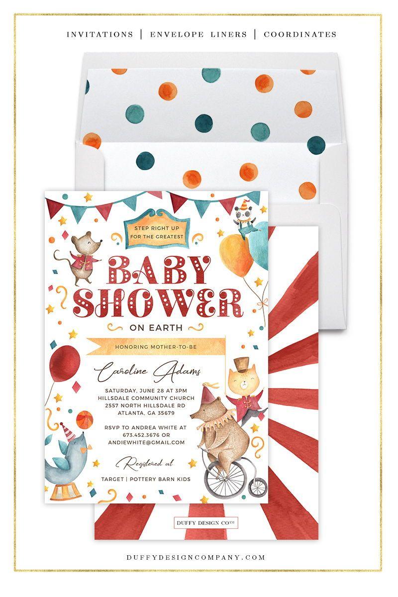 Baby Boy Shower Invitation Baby Shower Invitation Invitation Baby