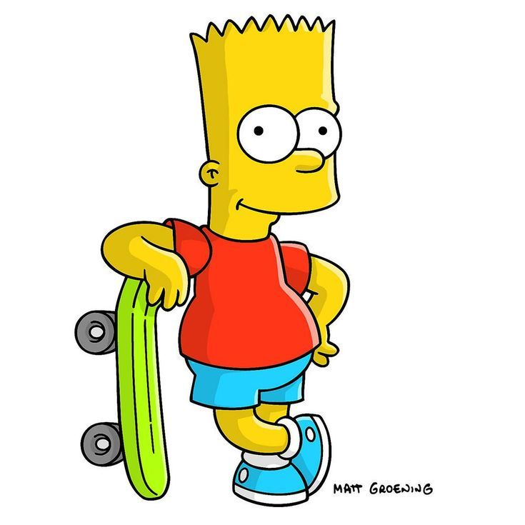 50 Best Cartoon Characters Of All Time Bart Simpson Bart Simpson The Simpsons Simpson