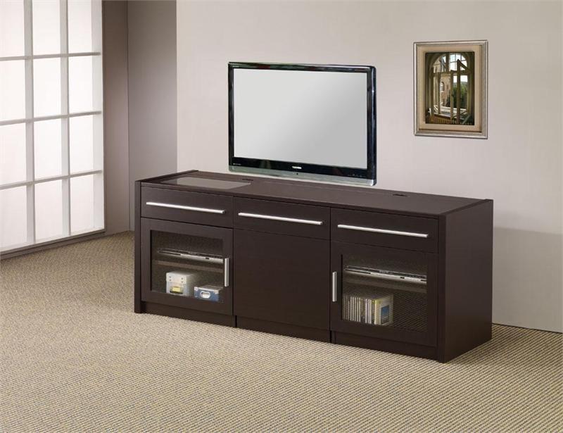 Modern Rich Cappuccino TV Console