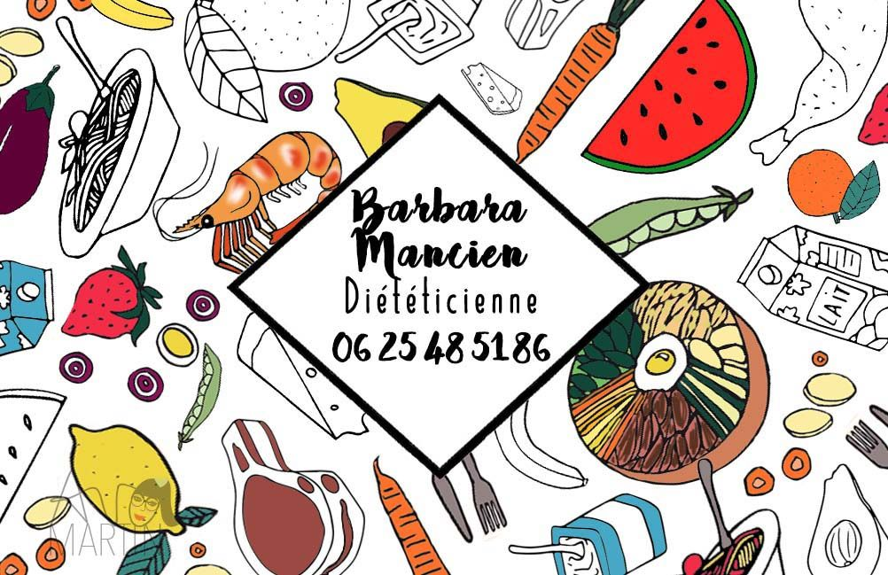 Carte De Visite Pour Dieteticienne Nutritionniste Sur Mon Site Internet Vous Pouvez