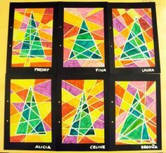 christmas art projects for middle school google search
