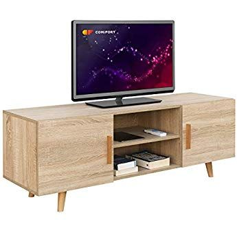 comifort tv85 – Meuble TV Salon Style Moderne Nordique Table ...