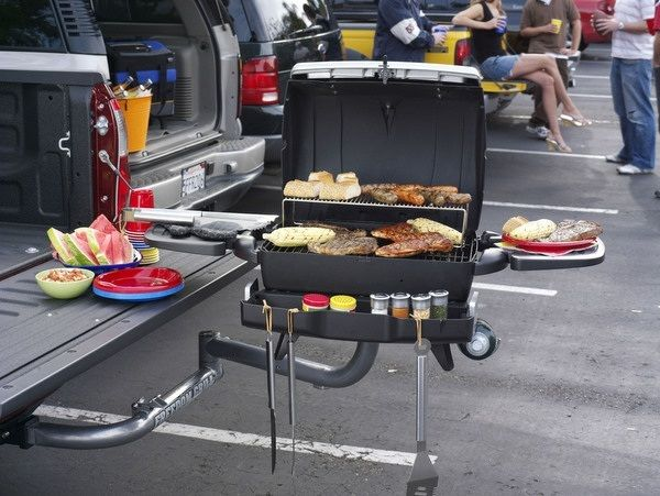 Bester Elektrogrill Rezepte : Praktischer grill idee auto elektrogrill stauraum essen