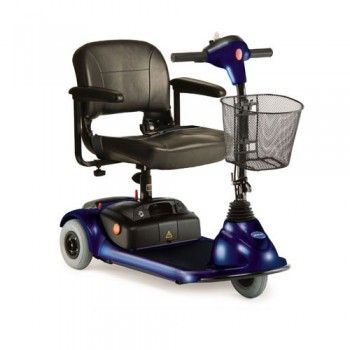 Invacare Lynx 3 Wheel Microportable Power Mobility Scooter