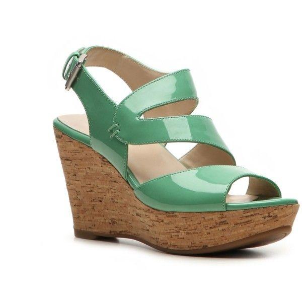 Bandolino Efficial Wedge Sandal Wide