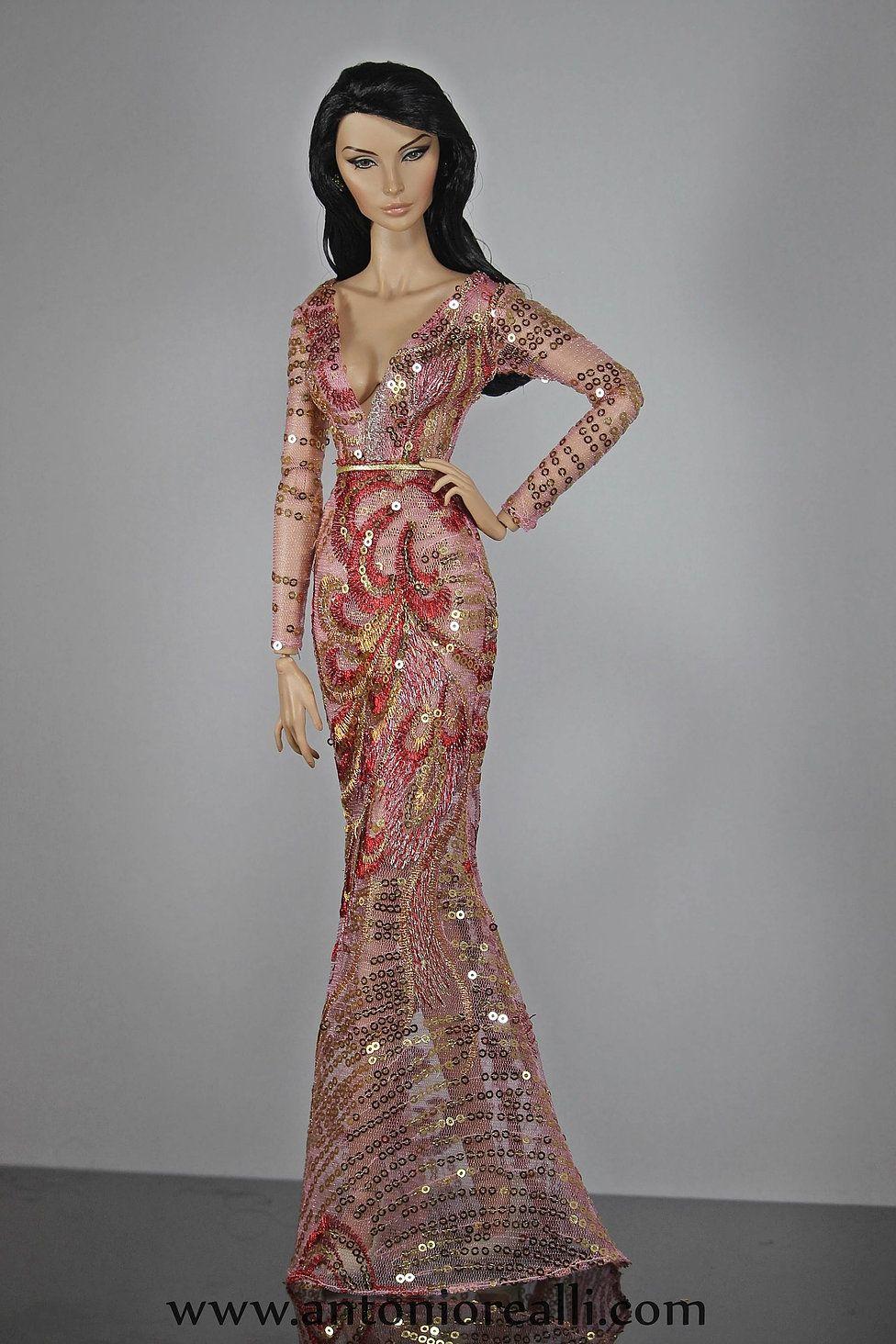 fashion for dolls antonio realli | Barbie Evening Gowns 3 ...