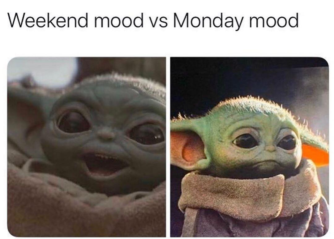 Baby Yoda On Instagram Yoda Babyyoda Babyyodameme Babyyodamemes Yodameme Yodamemes Workout Memes Funny Yoda Meme Funny Memes
