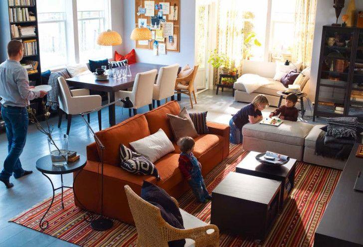 Stunning Ikea Room Design Ideas: Wonderful Ikea Small Living Room ...