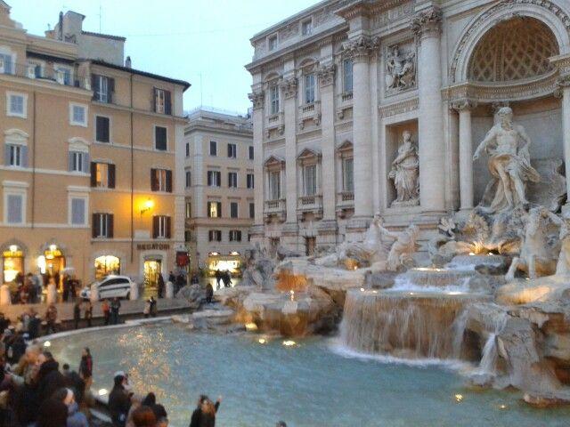 Fontana de Trevi, Roma-Italia
