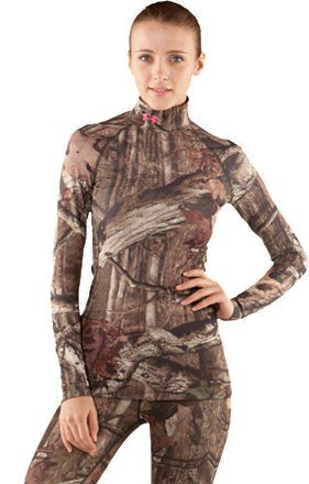 b0b3eb6041 Women's UA EVO ColdGear® Long Sleeve Camo Mock | Under Armour US ...