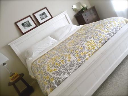 Farmhouse King Bed tut