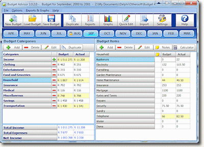 Home Budget Software Made Simple Free One Month Trial Budget Software Budgeting Home Budget