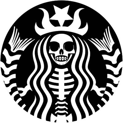 DIA DE LOS MUERTOS DAY OF THE DEADSkull Starbucks