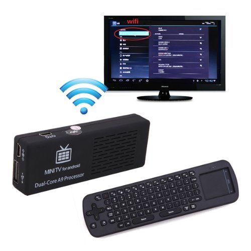 Android 4 2 Mini PC Dual Core Bluetooth 4GB TV Streaming Box