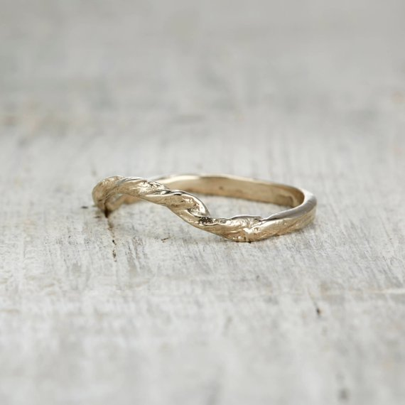 Curved Wedding Band With Diamonds Aquamarine Engagement Ring Pink Morganite Engagement Ring Gold Diamond Wedding Band