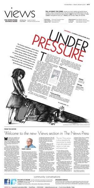 Legislative Pressure  Cool Designs    Newspaper