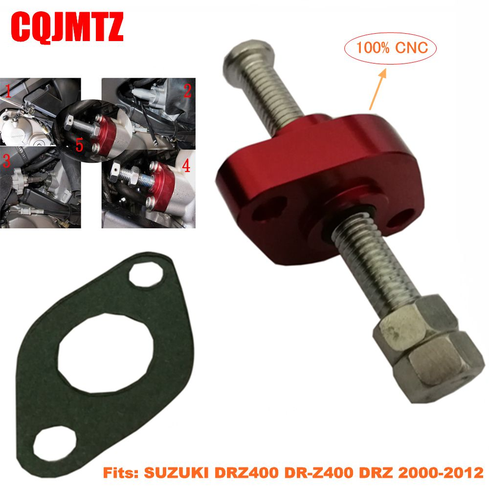 Off Road Motorcycle Cam Timing Chain Tensioner For Suzuki Drz 400e S Sm 2000