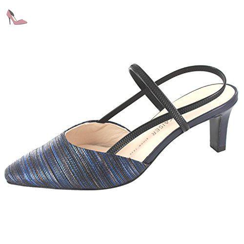 PETER KAISER MITTY 66787985 femmes Sandales, bleu 40 EU - Chaussures peter  kaiser (  2b4bc55fe9a6