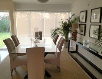 Decoraci n de sala y comedor modernos home pinterest for Salas y comedores modernos