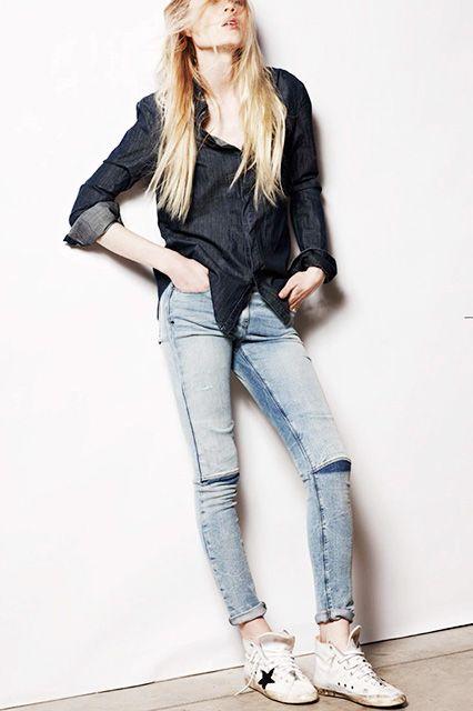 Best Jeans New Denim L A Frame Mcguire Rta Ss14 Denim Inspiration Best Jeans Denim Chic