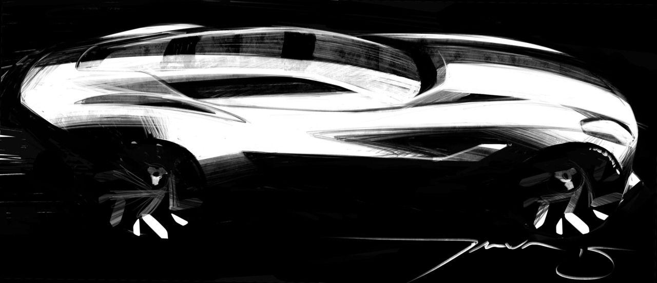 Thomas Stephen Smith   Car design sketch, Car drawings ...
