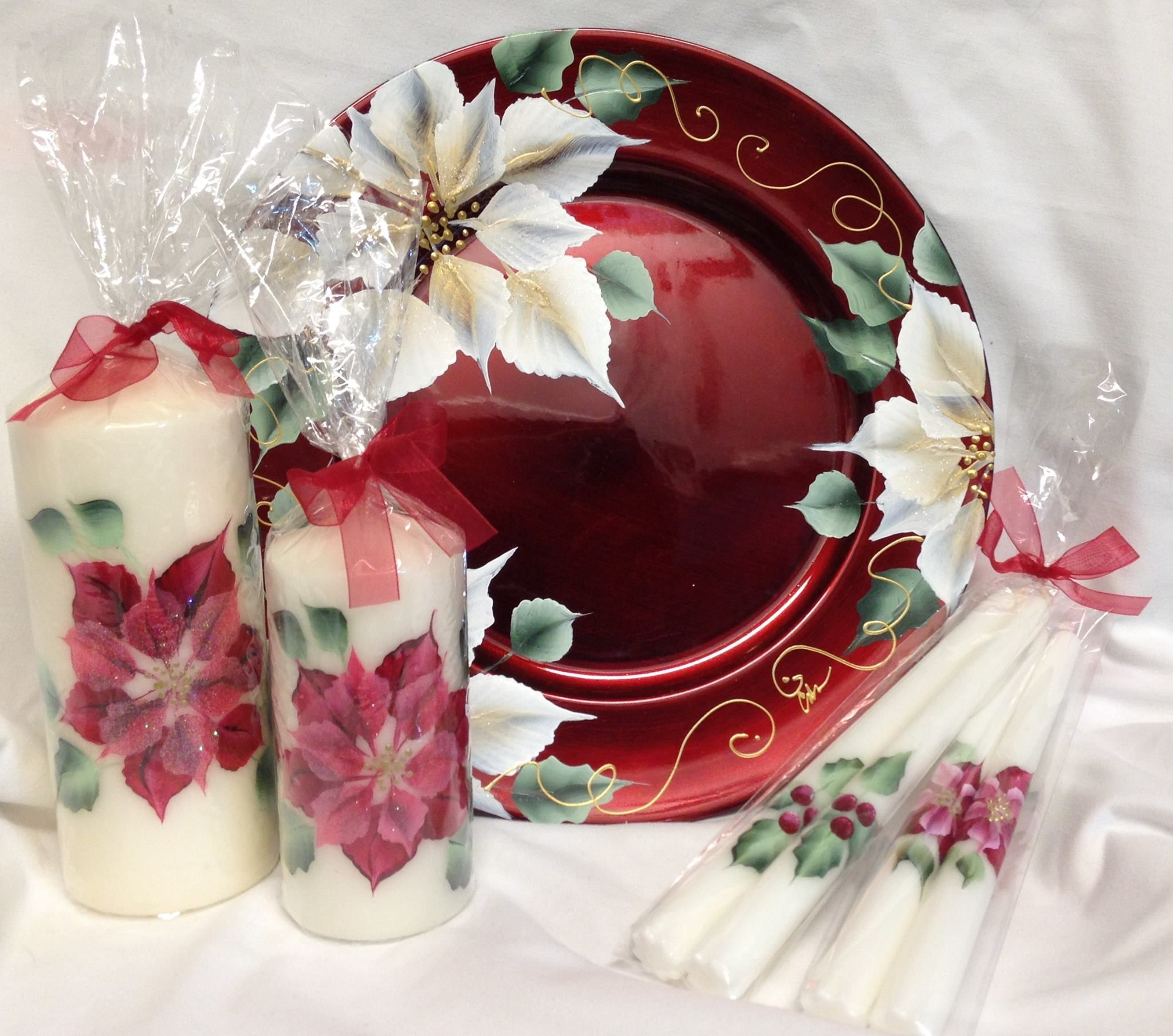 Onestroke Painting Christmas Project Ideas