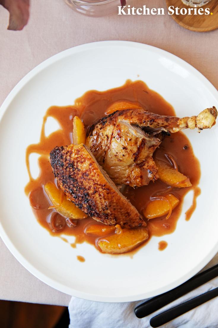 Ente in Orangensoße | Rezept | Kitchen Stories