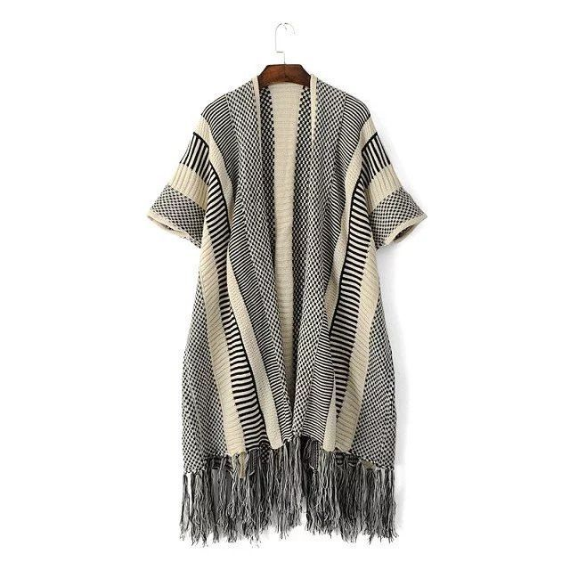 Just In Tali Knit Fringe ... Shop Now! http://www.shopelettra.com/products/tali-knit-fringe-kimono-sweater?utm_campaign=social_autopilot&utm_source=pin&utm_medium=pin