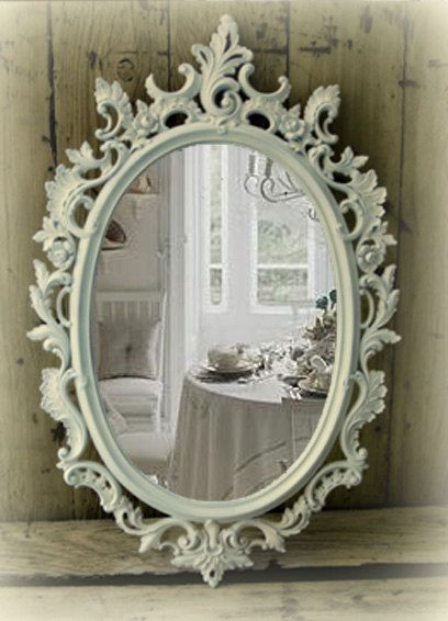 Shabby Chic Bathroom Mirror I Have This In My Booth Come See It