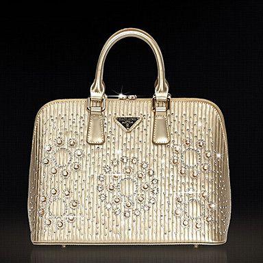 Fourre-tout mode d'or avec des diamants – EUR € 93.22