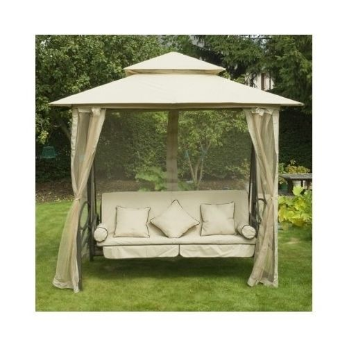 canopy garden swing lounge seater gazebo bed outdoors marquee hammock yard bench patio. Black Bedroom Furniture Sets. Home Design Ideas