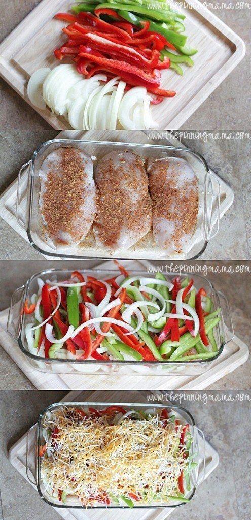 Easy Fajita Chicken Bake images