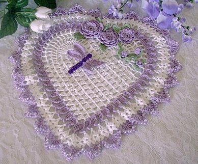 doily that does with hert diagram