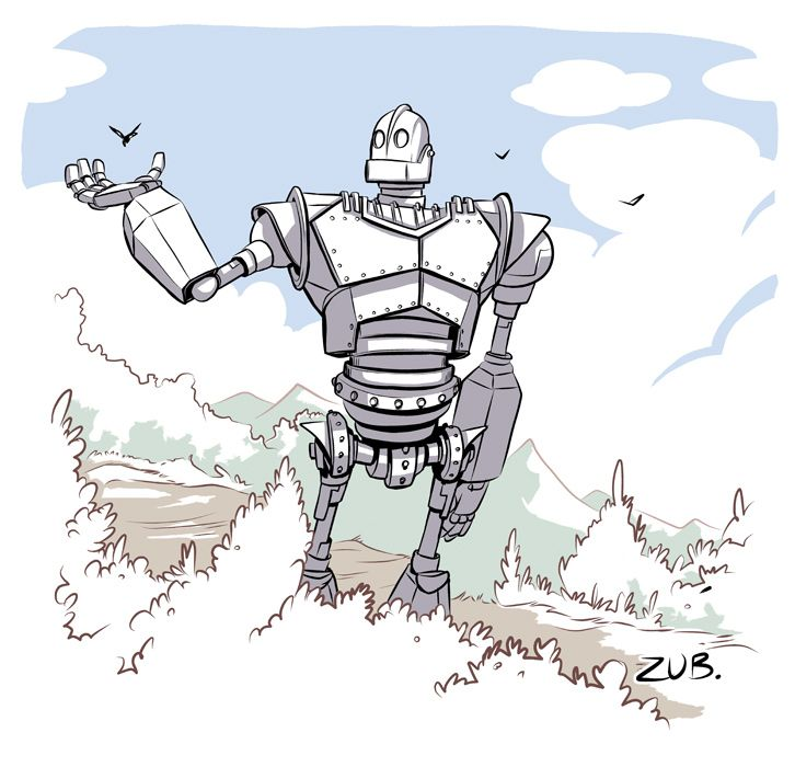 Iron Giant Commemorative by Zubby.deviantart.com on @deviantART ...