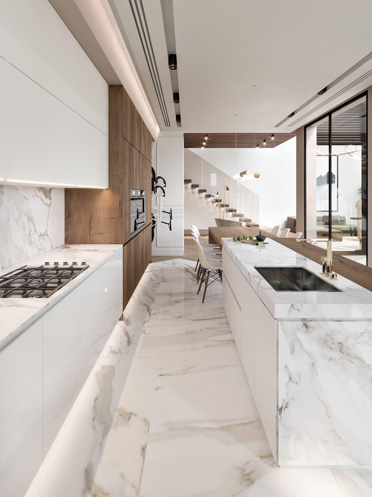 30b18563439997 5ab0f69a30feb Jpg 1240 1653 Vintageminimalistdecor Luxury Kitchen Design Modern Kitchen Design Interior Design Kitchen
